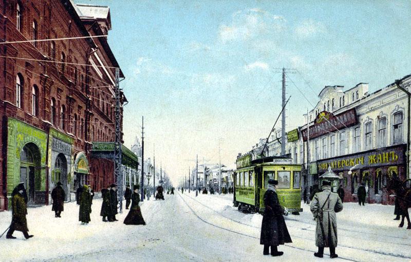 Скоростной трамвай в рождеству подработал.  Заводского района до мирного переулка без пересадокконечно практически...